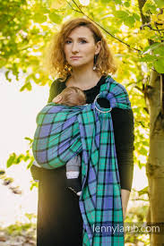 Ring Sling - 100% <b>Cotton</b> - <b>Twill Weave</b> - COUNTRYSIDE PLAID ...