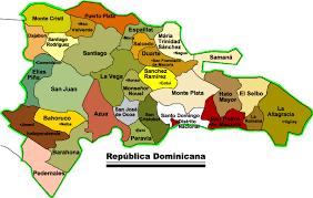 Resultado de imagen para Rep. Dominicana mapa