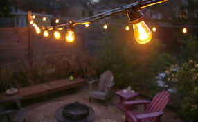 just installed them today with a minimal amount of blood and cussing the light they give off is warm yet substantial and i love that i can see the backyard string lighting