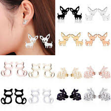 Animals & Insects Silver <b>Stud</b> Fashion Earrings for sale | eBay