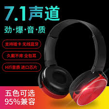 XB-<b>450BT</b> Stereo Phone Universal Headset Folding <b>Wireless</b> ...