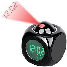 Yosoo LED Projector <b>Alarm Clock Multi-Function Digital</b> ...