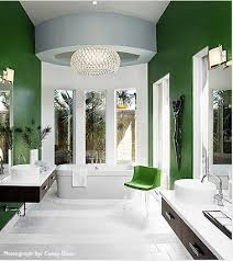 green bathroom screen shot: so green like the stem of a flower