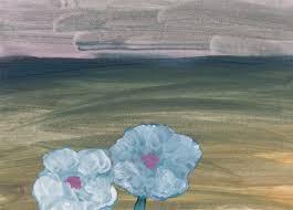 Two <b>blue flowers</b>