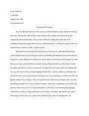 niccolo machiavelli study resourcesniccolo machiavelli essays