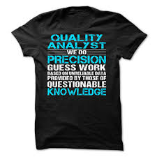 quality analyst t shirt