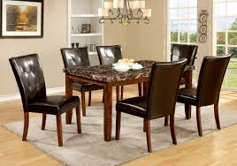 Marble Dining Room Sets Transform Marble Top Dining Room Table Brilliant Interior Design