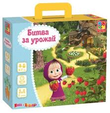 <b>Настольная игра Vladi</b> Toys Маша и Медведь Битва за урожай ...