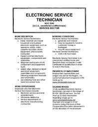 electronic technician resume getessay biz electronic technician resume sample for electronic technician