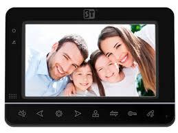 <b>Видеодомофон Space Technology ST M100 7</b> (S) Black - Чижик