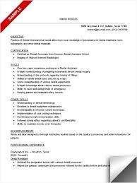 Resume For Dental Hygienist