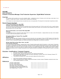 film resume template template film resume template