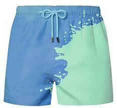 <b>Color Changing</b> Swim Trunks <b>Men</b> Fashion Bathing Suit Shorts ...