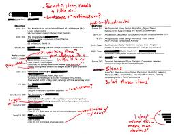 intern 101 redlined resumes strength in need of definition phrases and titles mean different things to different people ce uses the title project manager for one of his her jobs which to some firms would imply