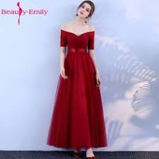<b>Beauty</b>-<b>Emily</b>-<b>Long</b>-Purple-Red-Gray-Evening-Dresses | Bridesmaid ...