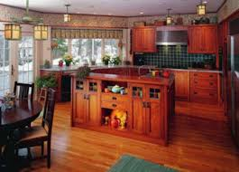 Prairie Style Kitchen Cabinets Cabinets Period Revival Arts Crafts Homes And The Revival