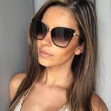 <b>2019 New Brand Designer</b> Cateye Sunglasses Women Vintage ...