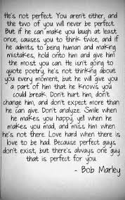 Perfect. | Words to Live By | Pinterest | Bob Marley, Bobs and ...