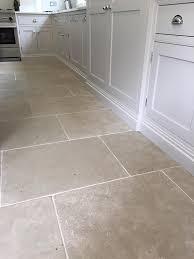 limestone tiles kitchen: paris grey limestone tiles for a durable kitchen floor light grey toned interior and exterior