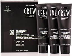 <b>American Crew</b> Precision Blend - <b>Краска для</b> седых волос темный ...