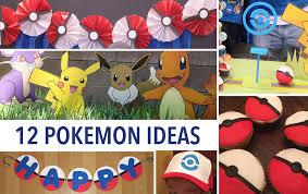 Pokemon Bedroom Decor Pokemon Go 12 Party Ideas Decor Activities And Food Youtube
