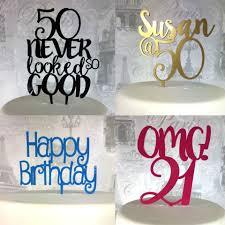 <b>BIRTHDAY</b>/ AGE <b>CAKE</b> TOPPERS