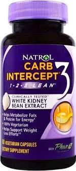 Блокатор углеводов Natrol <b>Carb Intercept</b> — купить блокатор ...