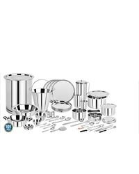 <b>Stainless Steel Dinner Set</b> - SS Dinner Set Latest Price ...