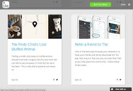 the ultimate guide to mobile referral marketing 4 tile blog referral program promo example
