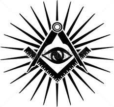 Resultado de imagen para simbolo del ojo que todo lo ve en masoneria
