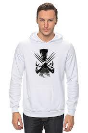 <b>Толстовка wearcraft premium</b> унисекс <b>printio</b> росомаха wolverine