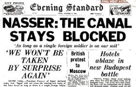 「President Gamal Abdel Nasser of Egypt nationalized the Suez Canal」の画像検索結果
