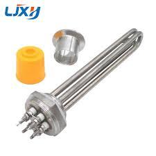 <b>LJXH</b> DN32 All <b>Stainless Steel</b> 304 <b>Electric</b> Immersion Water Heater ...