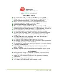 united way kw celebrates years go green initiative united here is a list of accomplishments made so far this initiative