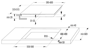 Купить Электрическая <b>варочная панель Gorenje ECT</b> 693-ORA-B ...