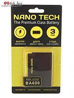 <b>Аккумулятор Nano Tech</b> (схожий с BA-600) <b>1290mAh</b> для Sony ...