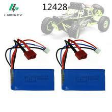 7,4 v 1500mah литий полимерный <b>аккумулятор</b> для <b>wltoys</b> 12423