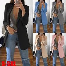 Womens Autumn and Spring Fashion Long Sleeve Open ... - Vova