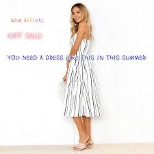 <b>Lossky 2018</b> New <b>Women</b> Sexy Side Split <b>Summer</b> Dress Off ...