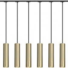 slv 143963tk6 enola b pd 1 pendant 50w 6 light track kit brass black brass track lighting