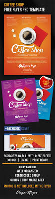 coffee shop flyer psd template facebook cover by coffee shop flyer psd template facebook cover