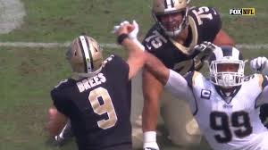 Drew Brees Exits Saints-Rams With Hand Injury