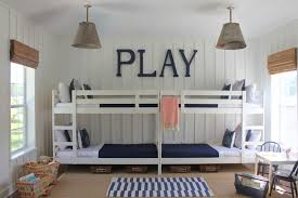 marvelous triple bunk bed technique jacksonville beach style kids decorating ideas with basket storage board and bunk bed lighting ideas