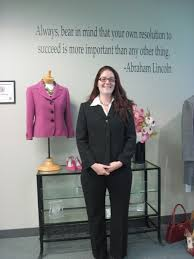 dress for success charity empowers women in san diego fine amber is prepared to enter the workplace confidence after a personal shopping experience at the private dress for success san diego boutique