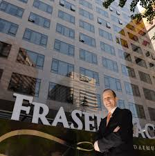 Peter Tangl, general manger of FraserPlace Namdaemun, poses in front of the property that rises unpretentiously in the heart of downtown Seoul near ... - 11-01(34)