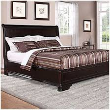 bedroom sets lots: trent complete king bed at big lots
