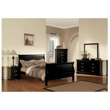 acme furniture louis philippe iii black 4 piece bedroom set black bedroom furniture collection