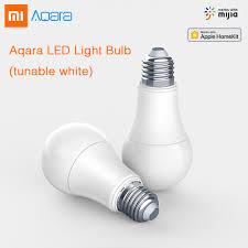 Original XIAOMI <b>Aqara</b> 9W E27 2700K 6500K 806lum <b>Smart</b> White ...