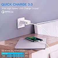 USB Wall Charger, Baseus Dual Port 30W Wall ... - Amazon.com