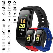 Fitness Bracelet <b>V5S Smart</b> Bracelet Color Screen Fitness Traker ...